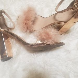 Buy1 pair get for $1 Charlotte russe gold pumps